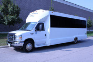 coach bus with pick up and return to Toronto mississauga oakville and burlington ontario